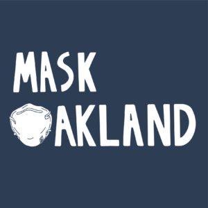 Mask Oakland logo