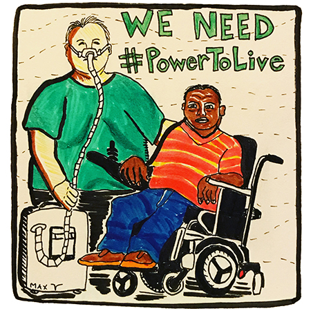 We need #PowerToLive drawing